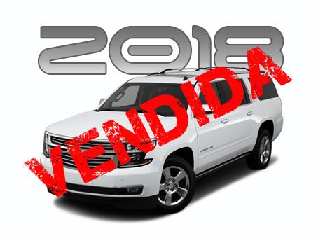 NUEVA Chevrolet Suburban LTZ Premier 2018 N3 AP (AK-47*)