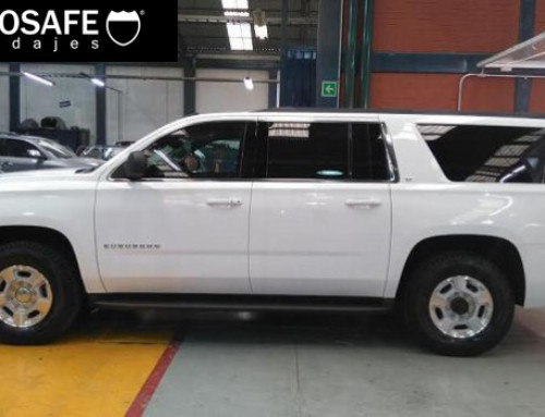 Lanza la nueva Chevrolet Suburban Paquete G Heavy Duty. Top Management
